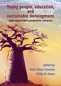 cover image 'Young people, education and sustainable development'