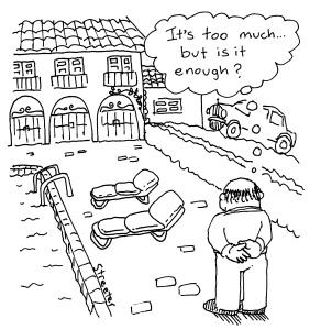 Cartoon by Betsie Streeter